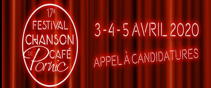 APPEL A CANDIDATURE – FESTIVAL CHANSON DE CAFE 2020